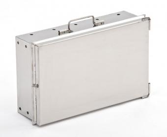 Мангал-чемодан из нержавеющей стали