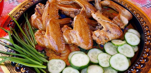 рецепты для копчения в коптильне куриных крылышек
